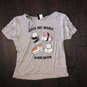 """""""Give me more sushi"""" kids Graphic Tee"""